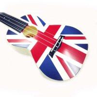 支持货到付款-Vorson ukulele 彩印乌克丽丽 尤克里里 夏威夷小四弦琴标准弦长 乌克丽丽 小四弦吉他专业音准 夏威夷小吉他 AUP-24-62
