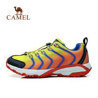 camel骆驼户外徒步鞋 新款 男款网面透气低帮徒步鞋网鞋
