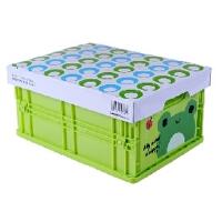 百创汇 新款叮当伸缩储物箱收纳盒储物箱化妆盒大号 JJH32