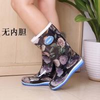 女士雨靴雨鞋水靴高筒靴女式雨鞋雨靴女套鞋加绒水鞋防滑水靴