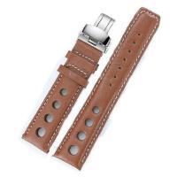 天梭TISSOT手表皮带T91棕色表带