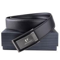 皮尔卡丹男士板扣皮带礼盒824L1003-2C0410黑色