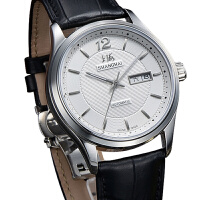 上海牌手表复古 男士钢带全自动机械表 商务防水皮带男表3003