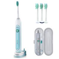 【包邮】飞利浦电动牙刷HX6711成人充电式牙刷软毛超声波震动儿童牙刷正品  两种刷牙模式 无线感应