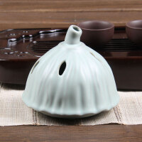 尚帝 汝窑莲花香炉 香道茶道配件140506-420DYPG