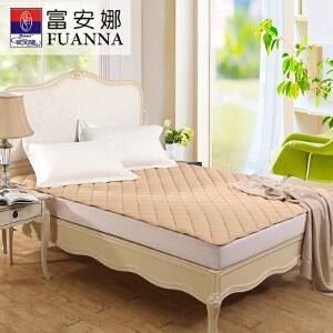 [当当自营]富安娜床垫纯棉保护垫 保暖厚床垫 浅咖 180*200