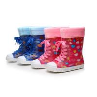 儿童雨鞋男童女童宝宝防滑儿童雨靴幼儿水鞋小童学生小孩胶鞋