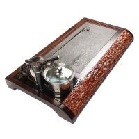 尚帝 黑檀木-乌金石电磁炉茶盘140506-742DYPG