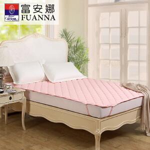 [当当自营]富安娜床垫纯棉保护垫 保暖厚床垫 粉色 120*200