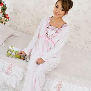 金丰田春款家居服 韩版时尚可爱休闲长袖性感女士睡衣套1632