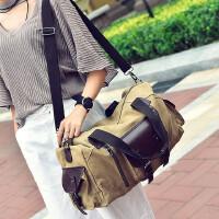 【支持礼品卡支付】斜跨包包韩版男士包男包单肩包男斜挎包男士书包长途旅行包袋帆布大容量包