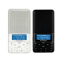熊猫DS-178 数字点歌机插卡音响收音机迷你超薄便携小音箱 播放器 时钟 闹钟 定时开关机