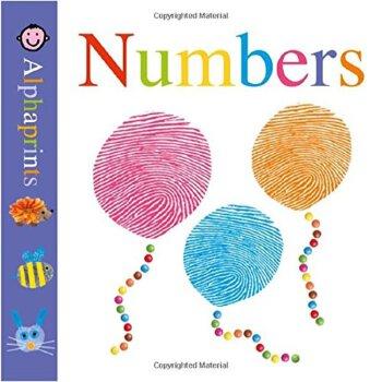 Alphaprints: Board Book: Numbers