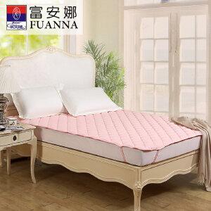 [当当自营]富安娜床垫纯棉保护垫 保暖厚床垫 粉色 180*200