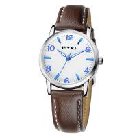 2017新款EYKI艾奇 时尚情侣表之女表 个性皮带手表 商务休闲时装表 8621