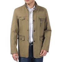 2016秋装男士休闲时尚外套 拉链休闲西装男式休闲男装夹克