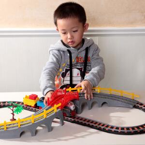 橙爱立昕 托马斯火车电动轨道火车玩具组合 儿童玩具益智拼搭 3-6岁男孩礼物