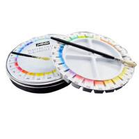 法国贝碧欧Pebeo 12色 24色固体水彩颜料 水彩套装