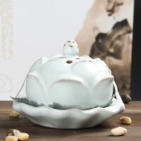 尚帝 陶瓷汝窑香炉 陶瓷古熏炉140506-017DYPG