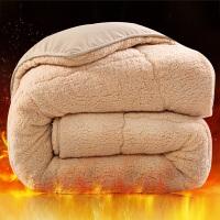 羊羔绒被芯棉被冬天双人被子加厚冬被单人宿舍秋冬被芯冬天加厚