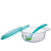 【当当自营】NUK 宝宝碗勺餐具套(红橙蓝绿随机发货)宝宝餐具/婴儿餐具/儿童餐具