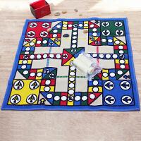 惠多豪华飞行棋礼盒版游戏地毯80*80�M地毯聚会娱乐游戏 亲子儿童毯