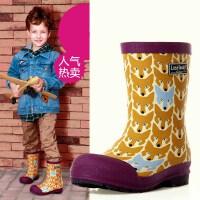 男孩雨靴优质儿童雨鞋男童套鞋环保舒适水靴水鞋