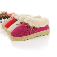 【支持礼品卡支付】棉拖鞋冬季保暖拖鞋情侣拖鞋家居平底舒适全包跟加厚拖鞋