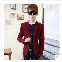 2015新款男装韩版小西装修身长袖春季青少年男士西服