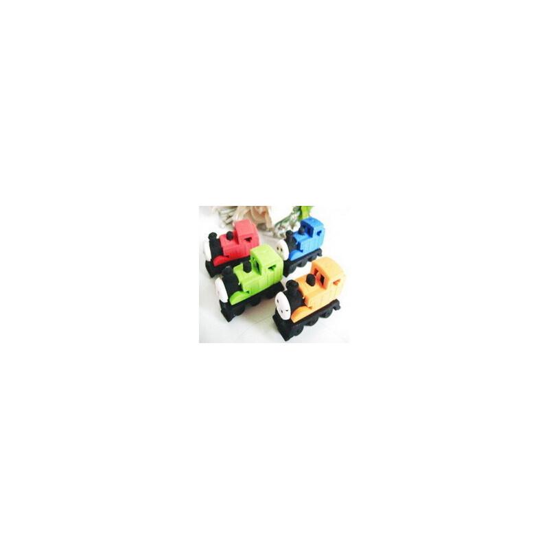 韩国文具 托马斯小火车橡皮 卡通火车橡皮 环保橡皮奖品(4块装)_颜色