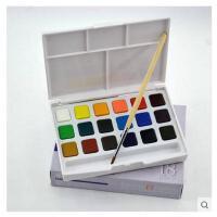 日本樱花全透明固体水彩颜料 泰伦斯18色固体水彩 写生水彩颜料