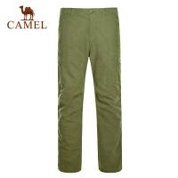 camel骆驼户外男女款旅行长裤 出游徒步舒适长裤防风保暖