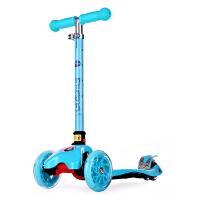 【当当自营】迪士尼儿童折叠滑板车可升降闪光轮2岁3-6岁4小孩摇摆车冰雪奇缘 SD13011-F蓝色冰雪奇缘
