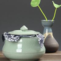 尚帝 哥窑开片裂纹茶叶罐 陶瓷密封140506-037DYPG
