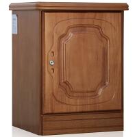 虎牌床头柜D-550型家用指纹床头柜式 黄木色