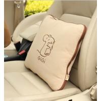 汽车防水透气抱枕被 空调被 两用抱枕被 G-1070