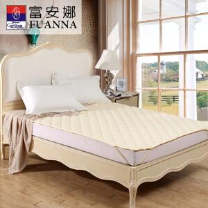 [当当自营]富安娜床垫纯棉保护垫 保暖厚床垫 米色 180*200