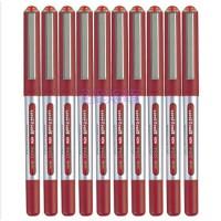 三菱(UNI) 耐水签字笔 0.5mm UB-150红色10支装