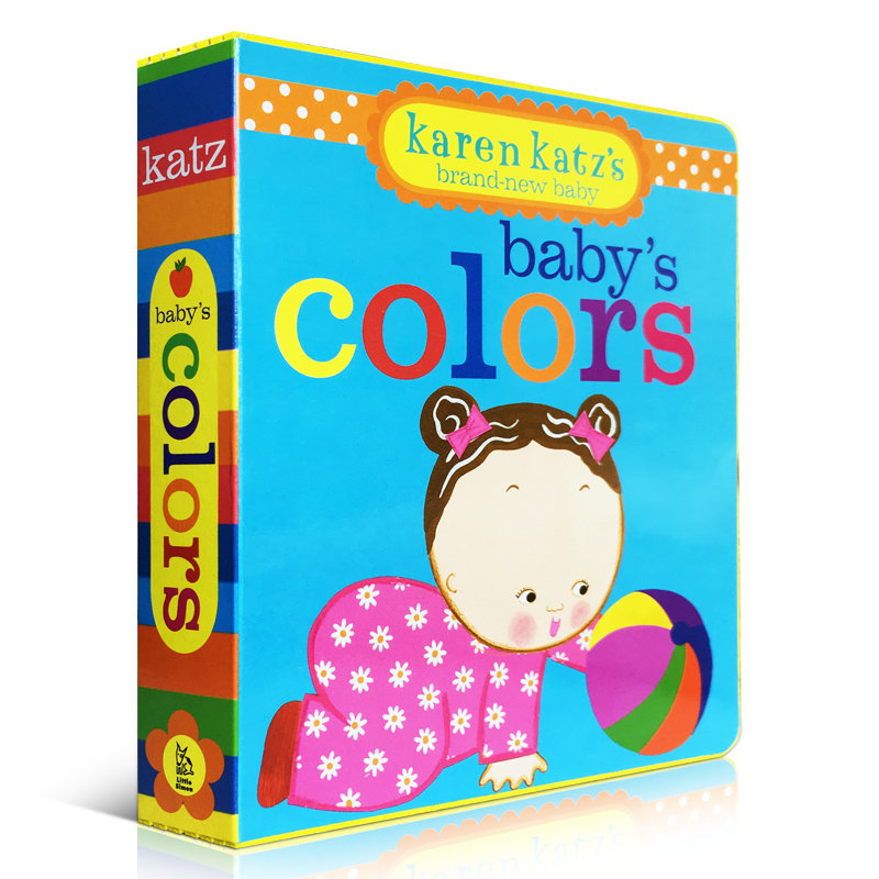 olors 宝宝的颜色纸板书 幼儿启蒙认知英文原版