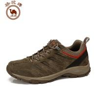 骆驼牌秋冬新款户外徒步登山鞋 情侣低帮系带防滑耐磨徒步鞋