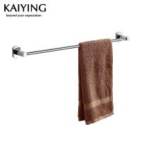 【工厂直营】凯鹰 优质铜镀浴室挂件 毛巾杆(单杆)7501