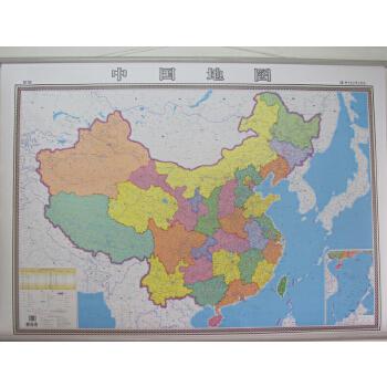 包邮 中国地图挂图 1.44米x1.