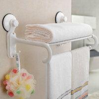 双庆第三代60厘米吸盘浴巾架 不锈钢 毛巾架 置物架 1870