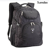 美国森泰斯 17寸笔记本电脑双肩包(疾速豪华科技商务背包)PON-374,防雨专业保护