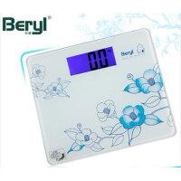 贝雅 电子称 BY868 人体秤 BY868电子秤 精准体重称健康秤 电子人体称背光