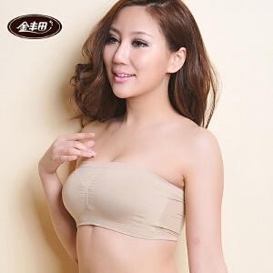金丰田专柜正品文胸 全罩杯抹胸式无钢圈性感时尚胸衣6071