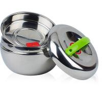 永喜 高档不锈钢 双层保温饭盒 苹果饭盒 便当饭盒 保温桶1000ML