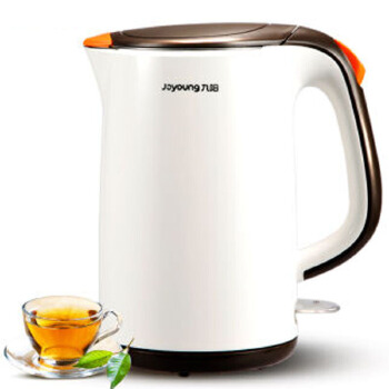 【九阳专卖店】 k15-f625电热水壶自动断电双层保温304全钢开水煲