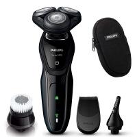 飞利浦电动剃须刀S5082/61 充电式男士刮胡刀含鼻毛修剪器 全身水洗