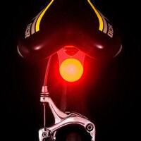 自行车LED安全警示灯单车前灯 喜洋洋车尾灯尾车必备双色